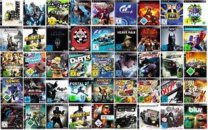 PS3-nur-1-Spiel-auswaehlen-z-B-Portal-2-C-amp-C-Need-for-Speed-Skyrim-Sims-usw