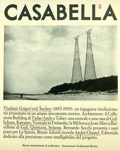 Casabella (dir. Gregotti) n. 573 novembre 1990