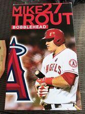 NEW ANGELS MIKE TROUT 2014 BOBBLEHEAD bobble head mlb baseball Anaheim ALL star