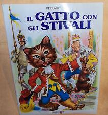 LIBRO Il gatto con gli stivali   AUT.Perrault  Emmerre ED. cod.5294