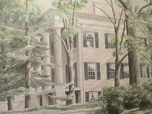 STAN-STRICKLAND-southern-art-milledgeville-vtg-georgia-Lockerley-hall-painting
