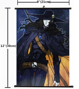 Bloodlust Wall Poster Scroll Home Decor Cosplay 1325 Anime Vampire Hunter D