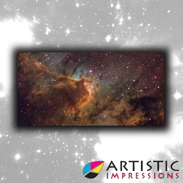6x3' Cave Nebula Gaming Mat - Ideal for Star Wars X-Wing Miniatures