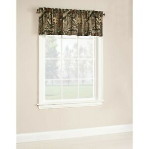 Details about Mossy Oak Camo Window Curtain Valance 60\