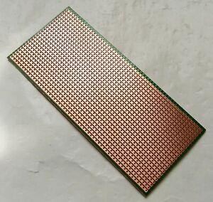 3x Stripboard Veroboard 8x8cm FR4 fiberglass uncut platine Single Side Prototype