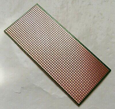 2pcs 6.5x14.5cm Stripboard Veroboard Uncut PCB Platine 1 Side Circuit Perf Board