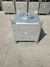 300 Gallon Stainless Steel Tote Tank