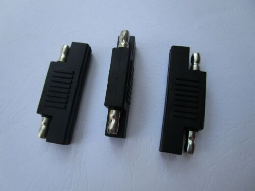 5 pcs SAE to SAE Quick Connect Disconnect Connector Plug Black Color New
