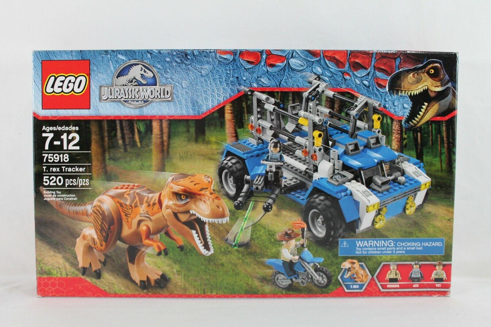 Lego T Rex Tracker jurásica mundo 75918 Nuevo Sellado retirado