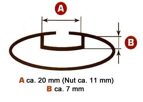 Portaequipajes de techo Menabo tema Nissan Note a partir de 2004 aluminio