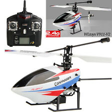 New Version 2.4GHz 4CH Wltoys V911 RTF RC Remote Control RC Helicopter w/Gyro TO