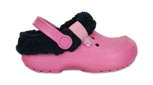 Crocs Kids Blitzen II Petal Pink Navy