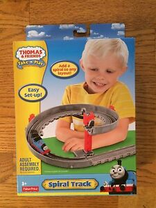 Spiral Track Pack for the Thomas & Friends Take-n-Play System of Trains. New | eBay