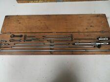 Starrett 124c 2 32 001 Inside Micrometer Set 124 Nm9