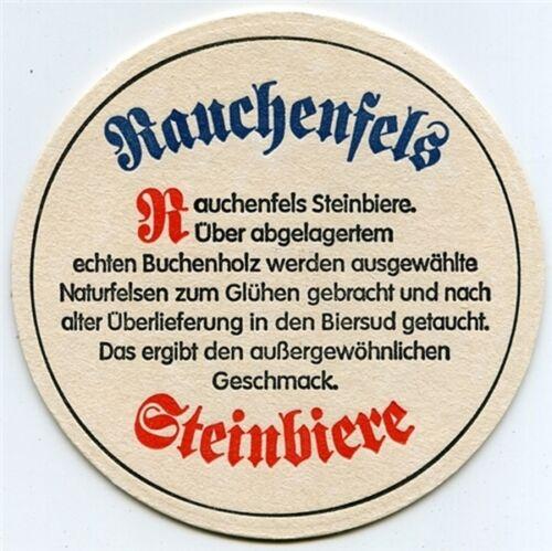 10 Stück Bierdeckel Rauchenfelser Steinbier Sailer Bräu Marktoberdorf Bar Party