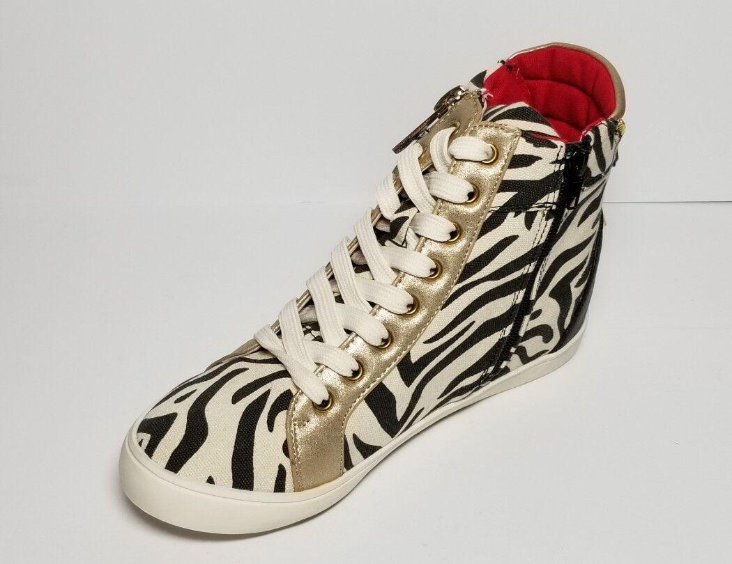 PRIMADONNA COLLECTION donna ZEBRA ZEBRA ZEBRA PRINT CANVAS scarpe da ginnastica EURO Dimensione 36 NEW IN BO 6b7b75