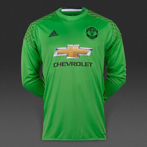 huge selection of b1f33 bc859 Details about MANCHESTER UNITED AWAY GOALKEEPER JERSEY SHIRT ( SOLAR LIME )