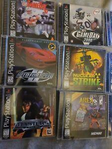 Huge Ps1 Xbox Pc Neo Geo Lot CIB consoles PC games 40 games 3 consoles