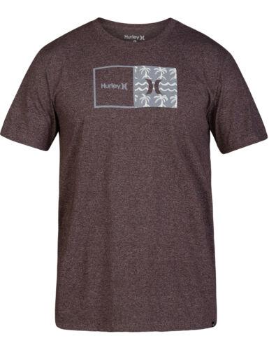 Hurley tueur Bro poche manches courtes T-shirt en acajou Htr