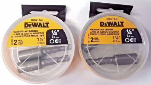 "Dewalt DW2218C2 1//4/"" x 1-7//8/"" Magnetic Nutsetters 2-2PKS"