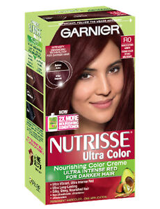 Garnier Nutrisse Ultra Color R0 Darkest Intense Auburn Haircolor