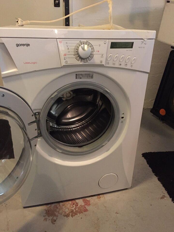 Gorenje vaskemaskine, Wa73161, frontbetjent