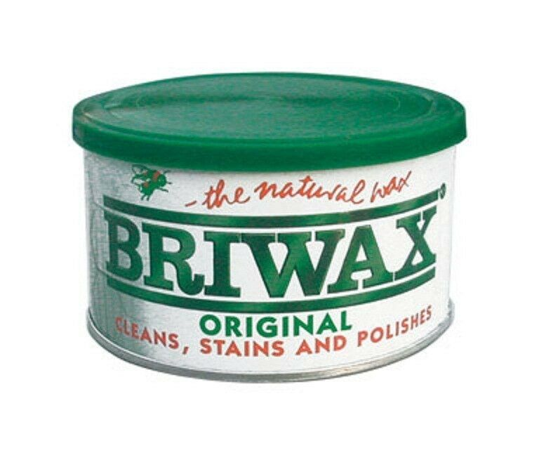 Briwax Dark Brown Furniture Wax Polish Cleans Stains And