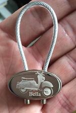 Zündapp Bella Schlüsselanhänger Fotogravur Roller Keyring Gravur