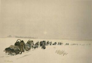 WW-2-Orel-Russland-Winter-1942-43-034-Im-Schneesturm-034-Kriegsberichter-Freiwald
