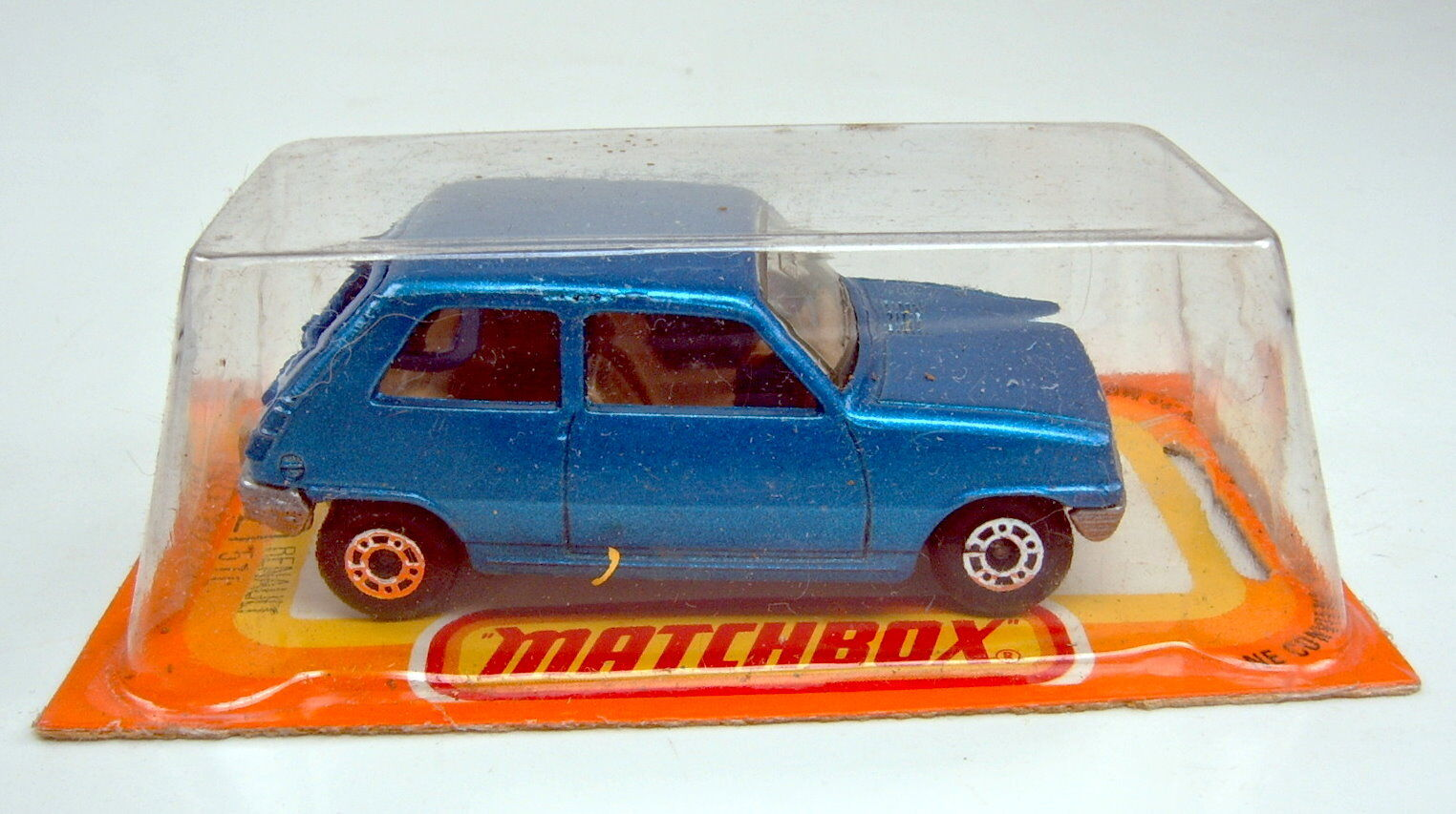 Matchbox Superfast no 21c renault 5tl azul metalizado Top Top Top Box francesa 524904