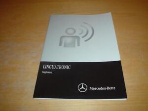 mercedes linguatronic w222 s class 300 350 400 500 600 owners rh ebay co uk Manual Mercedes Clutch mercedes linguatronic manual pdf