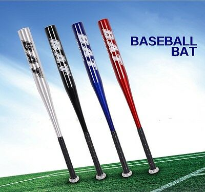 28'' Light Aluminum Alloy Baseball Bat Racket Softball Outdoor Sports 4 Colors