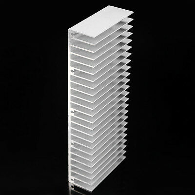 60x150x25mm Aluminum Heat Sink for LED and Power IC Transistor