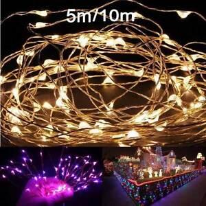 2M-5M-10M-180-50-100leds-Copper-Wire-Christmas-Outdoor-String-Fairy-Light-DC12V