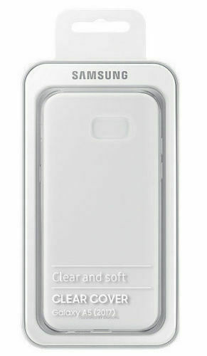 Samsung Galaxy A5 (2017 model) Official Clear Genuine Cover Case