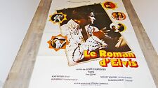 LE ROMAN D' ELVIS ! john carpenter affiche cinema 1978