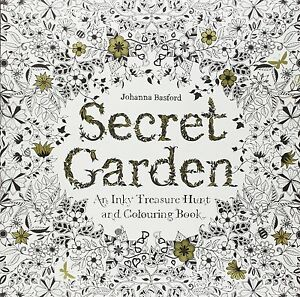 Image Is Loading Secret Garden Adult Colouring Book Johanna Basford Floral