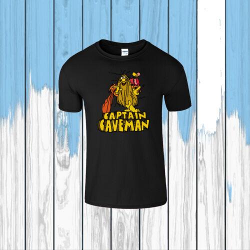 Capitaine Homme des cavernes Inspiré Hommes T Shirt Dessin Animé TV Show programme Kids Tee