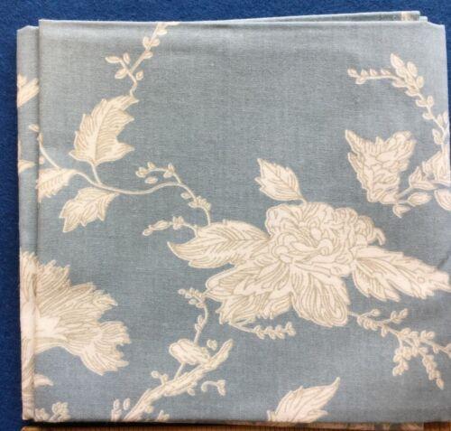 Mas D/'Ouvan Satya Blue Beige Floral Block Print