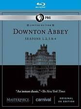Masterpiece: Downton Abbey Seasons 1, 2, 3, & 4  (Blu-Ray) Limited Edition UK Ed