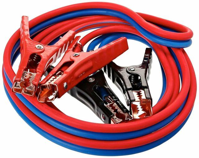 4 Gauge Car Cables 4 Gauge x 20 Ft 500A Heavy Duty Booster Jumper Battery Cables Booster Cable Booster Jumper Cables in Carry Bag Jumper Battery Cables