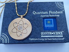 QUANTUM SCIENCE MST PENDANT-  MADE IN JAPAN 6 TON