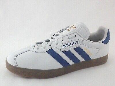 ADIDAS Gazelle Super Shoes Off White Blue Gum Soles CQ2798 Mens US 7 EU 40 New | eBay
