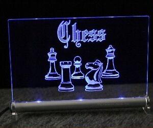 Chess LED Leuchtschild Schach  Brettspiel Schachcomputer Turnier