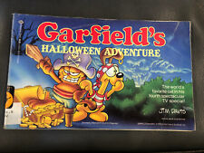 Garfield S Halloween Adventure By Jim Davis 1985 Trade Paperback For Sale Online Ebay