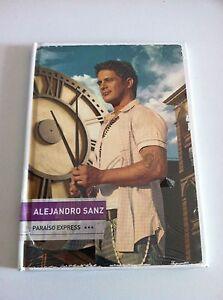 ALEJANDRO-SANZ-PARAISO-EXPRESS-2009-SPECIAL-EDITION-LIBRO-NUEVA-PRECINTADA