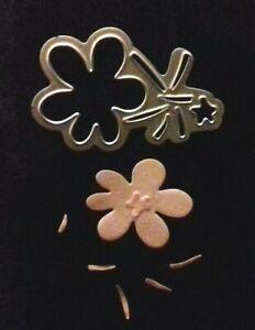 Sizzix Die Cutter  FLOWER    Thinlits fits Big Shot Cuttlebug