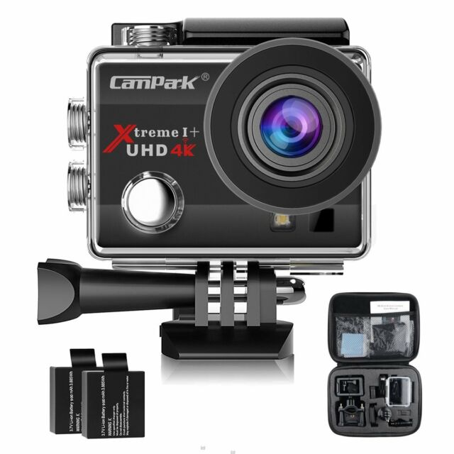 Campark ACT74 Action Camera 4K 16MP WiFi FHD Sport Cam Underwater 170° Camcorder