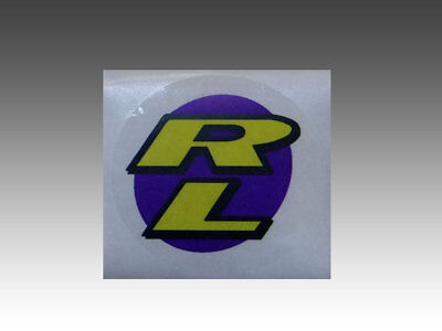 "1.75 X 1.75/"" RARE ORIGINAL OLD SCHOOL REDLINE /""RL/"" BMX BICYCLE STICKER"