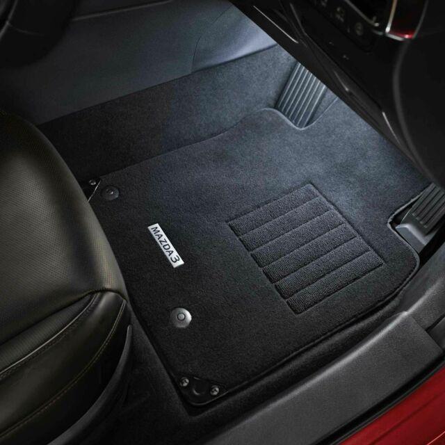 Genuine Mazda 3 Car Carpet Floor Mats Set Part BP11ACFM 2019+ Hatch & Sedan